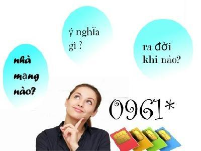 """Đi tìm câu trả lời cho câu hỏi """"đầu số 0961 là mạng gì?"""""""