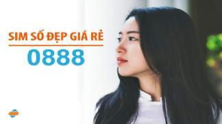 Sim đầu số 0888 là mạng gì? Hướng dẫn cách mua sim 0888 online