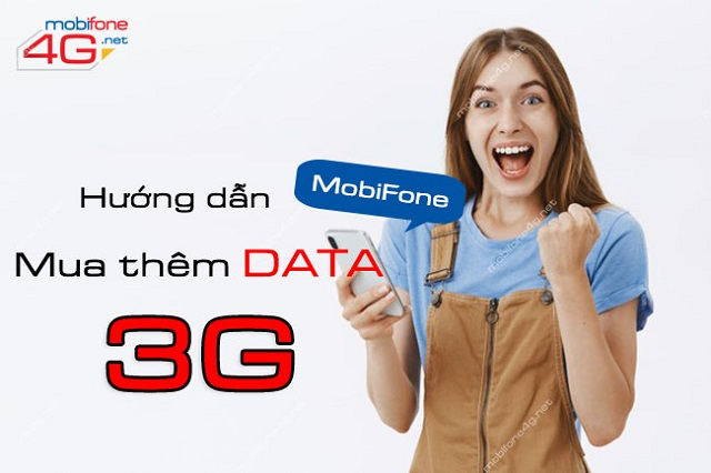 Cách mua thêm dung lượng 3G MobiFone giúp bạn tiếp tục truy cập mạng
