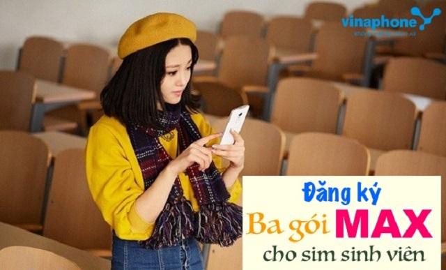 Tổng hợp các gói MAX Vinaphone dành cho sim sinh viên