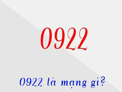 Đầu số 0922 là mạng gì? Hướng dẫn chọn sim đầu số 0922