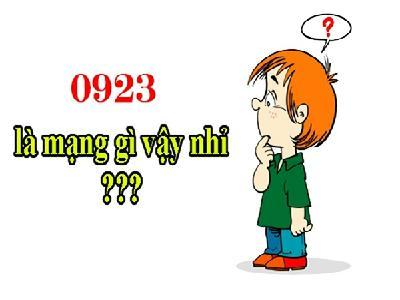 Khám phá những thông tin đầu số 0923 là mạng gì?