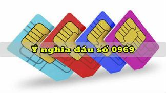 Thật bất ngờ với ý nghĩa và lời giải đầu số 0969 là mạng gì?