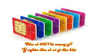 Đi tìm tất cả câu trả lời cho đầu số 0977 là mạng gì?