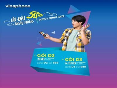 Đăng ký gói D3 Vinaphone - nhận ưu đãi