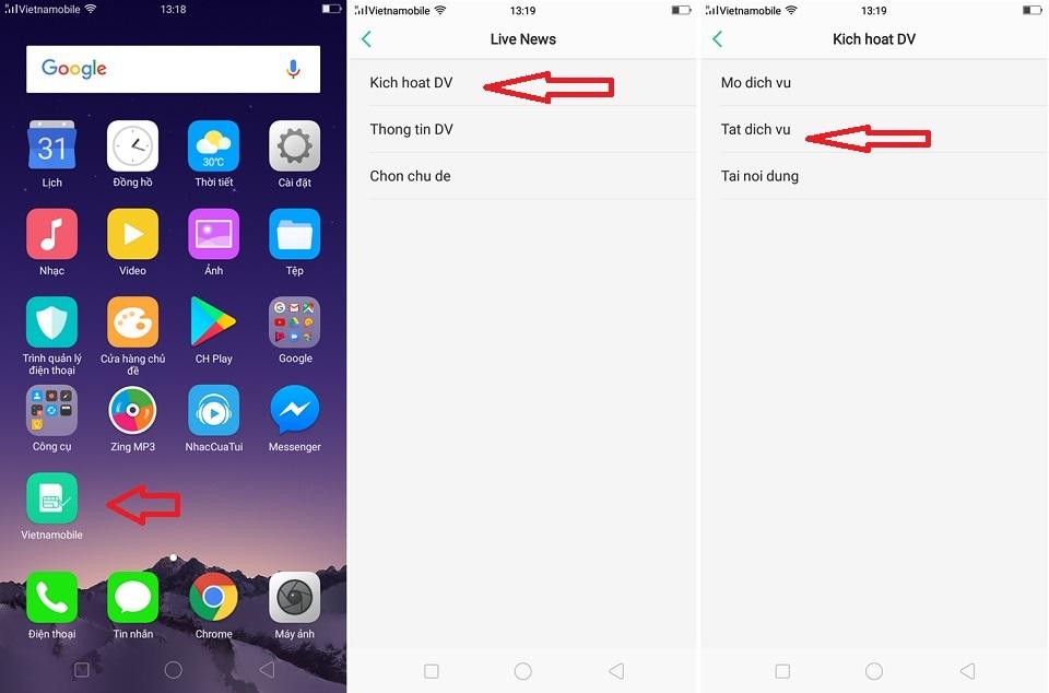 Sử dụng ứng dụng có thể tắt được quảng cáo